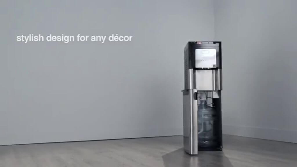 Whirlpool Stainless Steel Water Cooler with LED Indicators