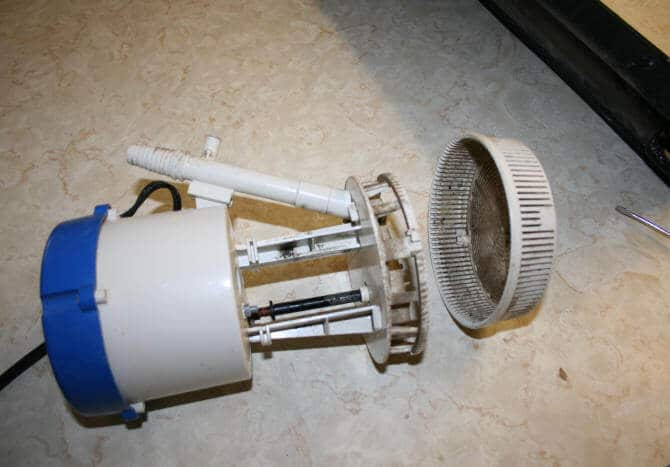 swamp water cooler pump