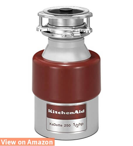 Kitchen Aid KCDB250G 1/2 HP Continuous Feed Garbage Disposal