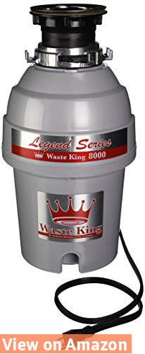 Waste King Legend Series 1.0-Horsepower Continuous-Feed Garbage Disposal