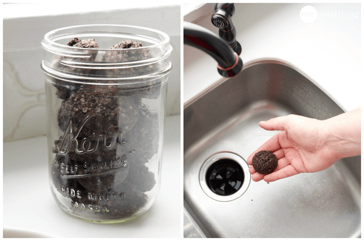 Coffee Grounds from Disposal