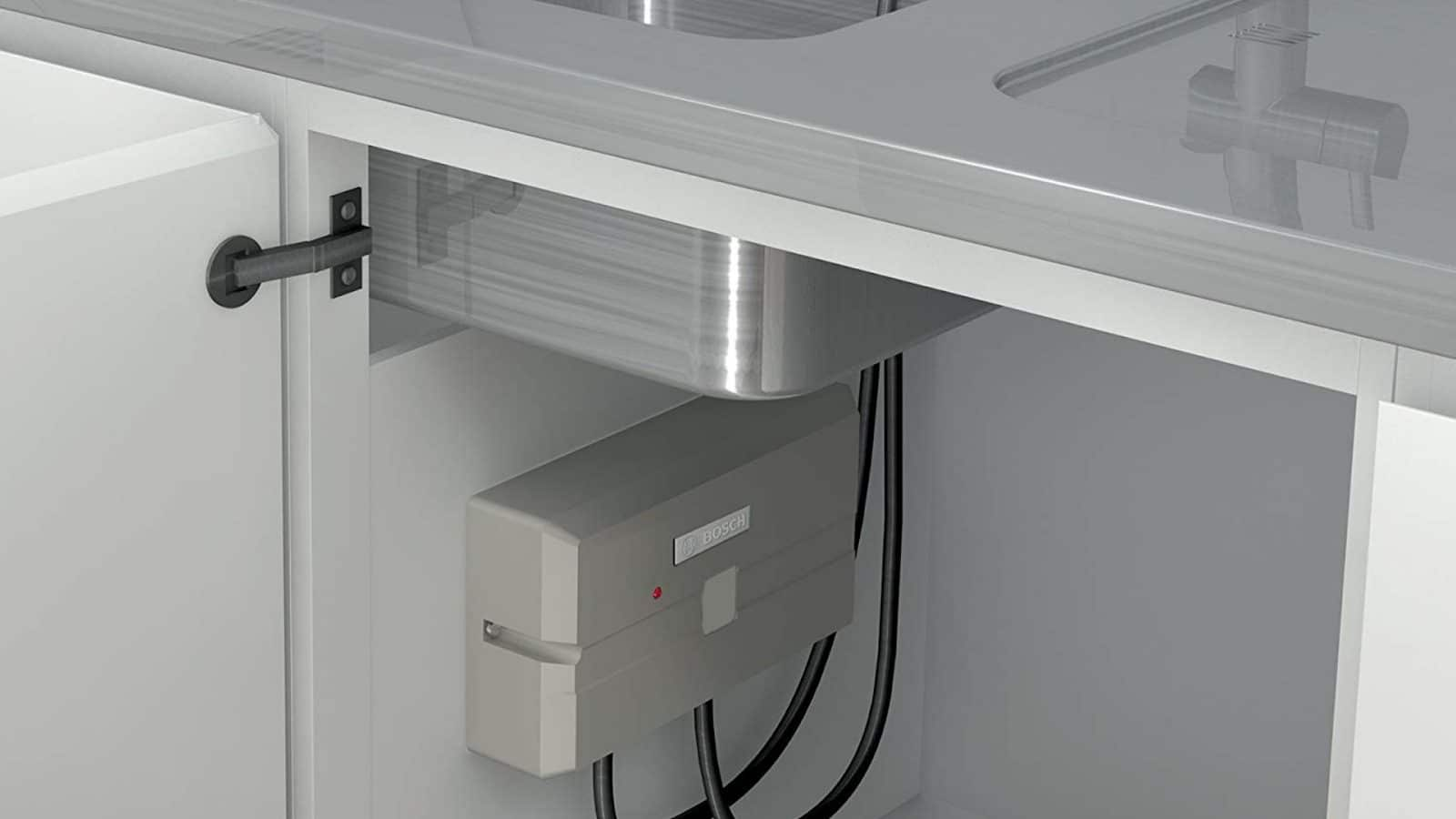 tankless water heater under sink