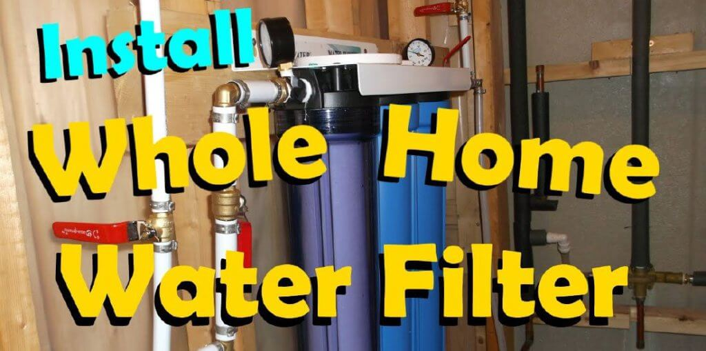 How-To-Install-A-Whole-House-Water-Filter Image