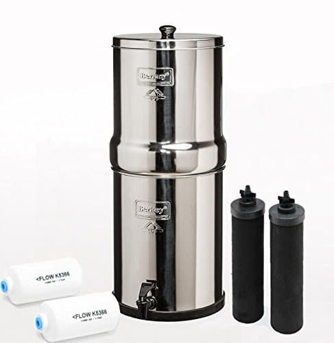 Big Berkey Countertop Water Filter Review Dec 2019