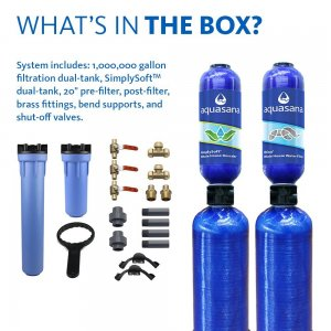 Aquasana Whole House Water Filter with Salt-Free Softener