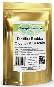 Water Distiller Cleaner & Descaler