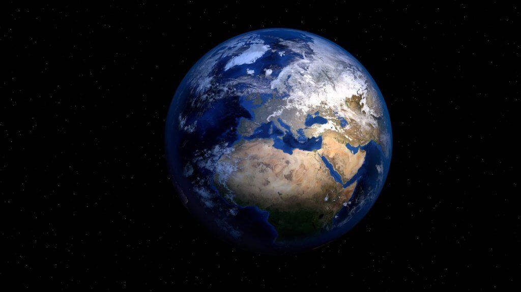 Приблизительно 71% поверхности Земли покрыто водой: