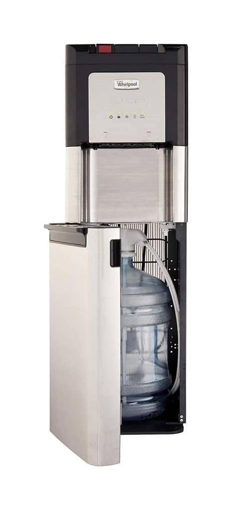 Whirlpool bottom loading water dispenser