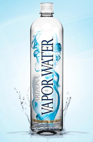 distilled water bottle