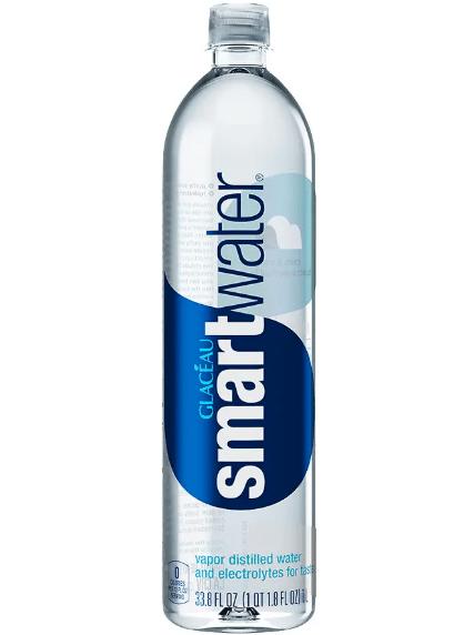 water bottle distilled