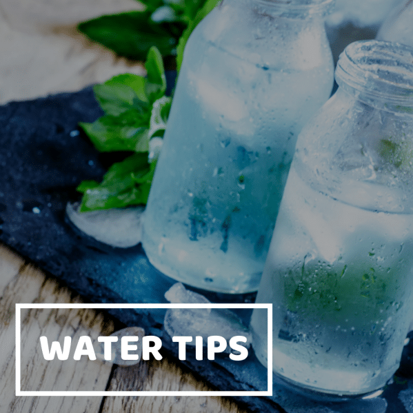 water tips