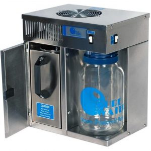 Image of a pure water mini classic stainless steel countertop water distiller