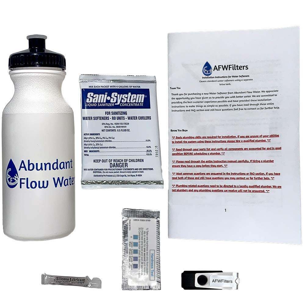 Fleck Iron Pro 2 AFW Filters Combination Water Softener
