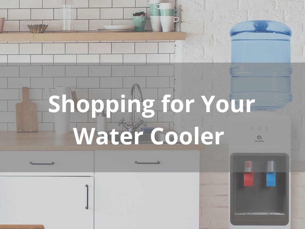 shopping for your water cooler
