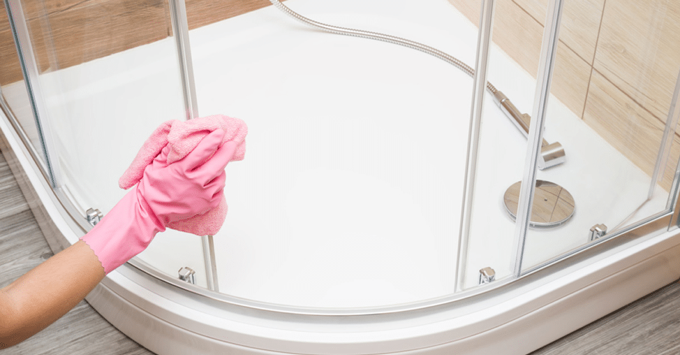 How to Remove Hard Water Stains from Tubs & Showers