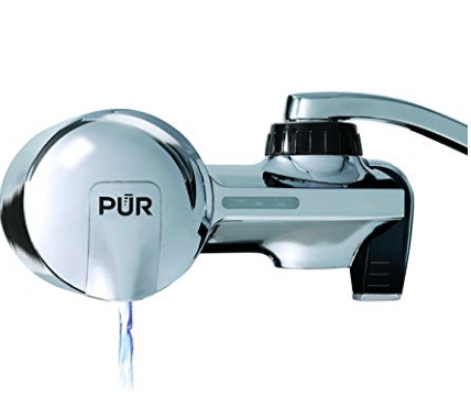 PUR (PFM400H) Chrome Horizontal Faucet Mount with MineralClear Filter, Chrome