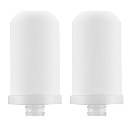 NeillieN Faucet Filter, Drinking Water Filter, Water Purifier for Kitchen,(Faucet Water Filter) (Faucet Filter Cartridge 2PCS)