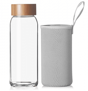 Reeho Borosilicate Bottle With Neoprene Sleeve