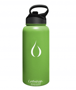 Refresh 2 go Vacuum Insulated Stainless Steel Filtered Water Bottle