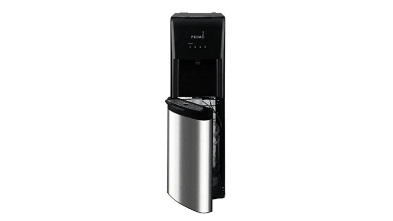 product image of Primo Stainless Steel 1 Spout Self-Sanitizing Bottom Load Hot, Cold and Cool Water Cooler Dispenser​
