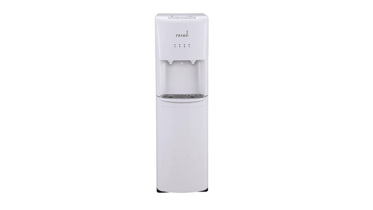 product image of Primo White 2 Spout Bottom Load Hot and Cold Water Cooler Dispenser