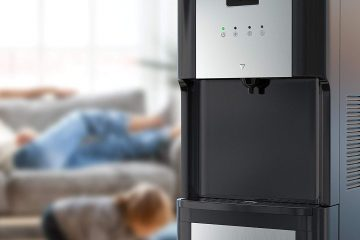 picture of homelabs water cooler dispenser in home