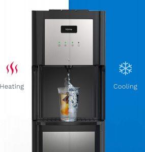 diagram of homelabs water cooler dispenser temperatures