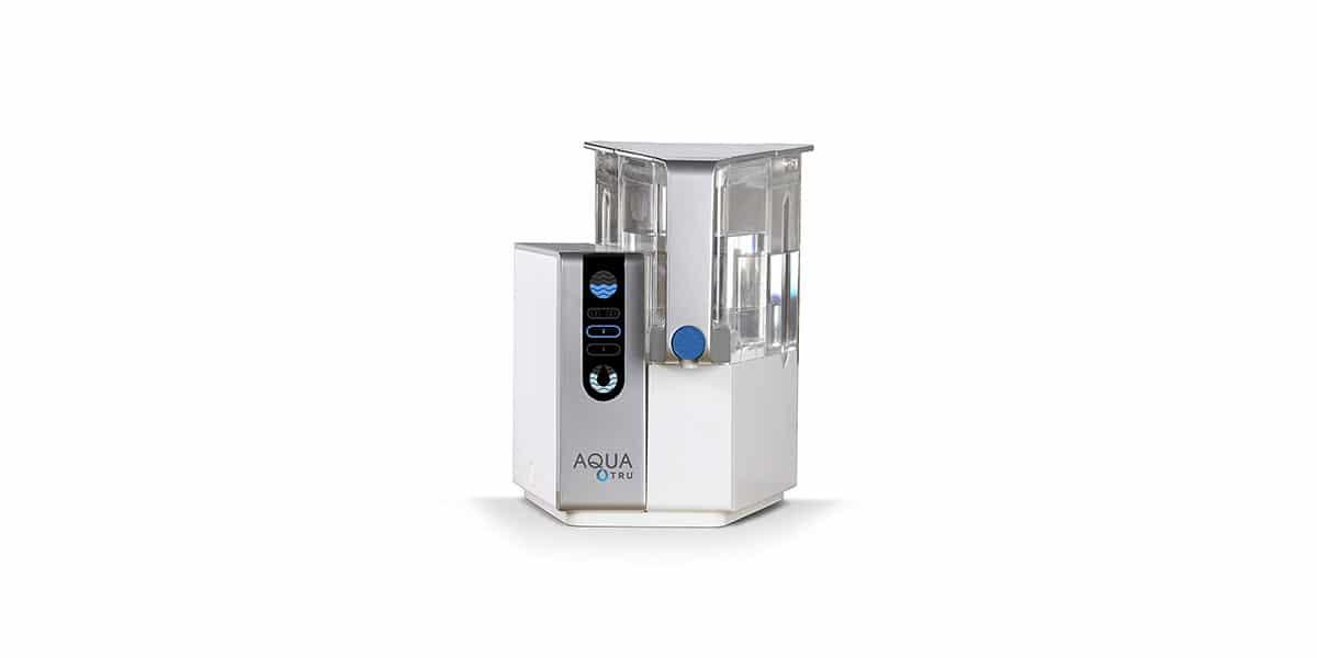 AQUA TRU Countertop RO Water Filtration Purification System