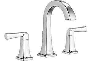 "Product Image of American Standard Townsend 8"" Inch Widespread, High-Arc Two Handle Bathroom Faucet with Speed Connect Drain"