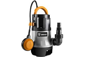 Product Image of DEKO Submersible Water Sump Pump, 1HP