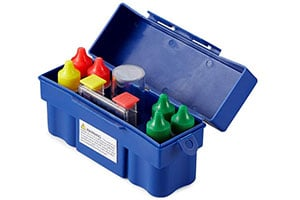 Product Image of Kokido 5 Way K331SW Swimming Pool Water Chemical Testing Pack with Storage Kit