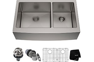 Product Image for Kraus KHF203-33 Standart PRO Kitchen Stainless Steel Sink