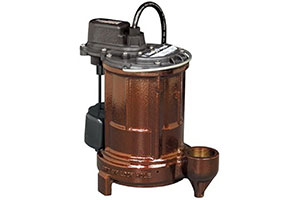 Product Image of Liberty Pumps 250-Series Cast Iron Automatic Submersible Sump/Effluent Pump with VMF Switch