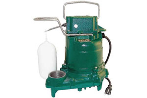Product Image of  Zoeller M53 Mighty-mate Submersible Sump Pump, 1/3 HP