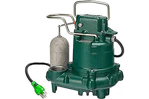 Product Image of Zoeller M63 Mighty-Mate Submersible Sump Pump, 1/3 HP