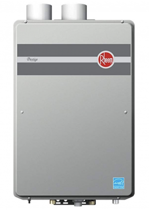 Product image of Rheem RTGH-95DVLP 9.5 GPM Indoor Direct Vent Tankless Propane Water Heater