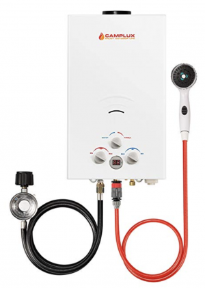 Product image of Camplux 10L 2.64GPM Outdoor Portable Propane Tankless Water Heater